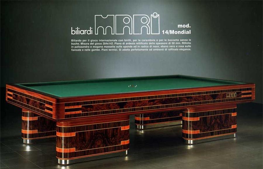 Minoia biliardi produttori di biliardi calcio balilla tavoli ping pong - Misure tavolo da biliardo ...